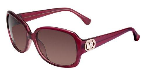 a56f378feb8b Michael Kors Harper Sunglasses in Berry M2789 609 57 58 Brown Gradient:  Amazon.co.uk: Clothing