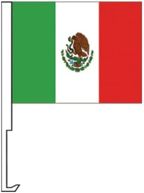 NEOPlex Mexico Car Window Flag