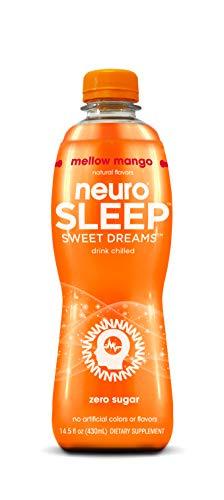Neuro SLEEP Mellow Mango, (Zero Sugar, 0 Calorie), 14.5 Fl Oz, Pack of 12