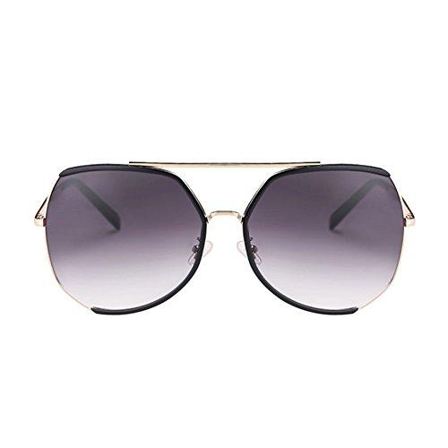 DT Color Gafas Style 4 Sol 3 de Harajuku Sol Protección UV Gafas Vintage La de Frame Sra de rEqw1rZ