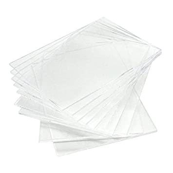 Love Memory 10 Pack of 5x7 Inch DIY Blank Clear Acrylic Sheets Wedding Acrylic Sign Cards and Gifts Signs Guest Book 5x7 Welcom Signs Table Number Signs