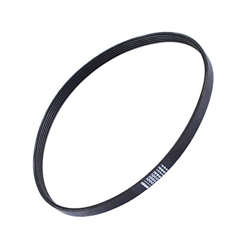 (Poweka W10006384 Washer Drive Belt Replacement part - Exact Fit for Whirlpool & Kenmore Washing Machine -Replace AP6014712 PS11747978 WPW10006384)