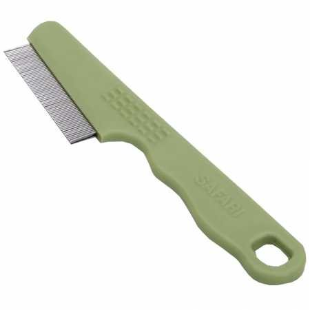 Safari Pet Products Safari Flea Comb for Cats, Flea and Tick Prevention for Cats, Cat Flea Treatment, Flea Prevention