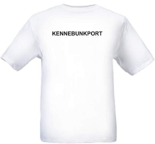 KENNEBUNKPORT - City-series - White T-shirt - size X-Small]()