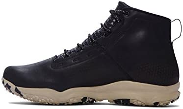 Under Armour Men s Speedfit Hike Leather Hiking Boots Black Desert Sand Size