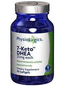 Physiologics 7-Keto DHEA 25mg, 90 gélules