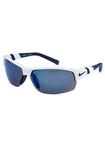 Nike Show X2 EV0675 Sunglass White Frame Grey/Blue Flash