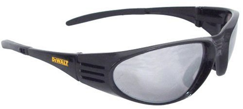 Dewalt DPG56B-6C Ventilator Black Frame Silver Mirror High Performance Protective Safety Glasses with Wraparound Frame (Woodworking Ventilator compare prices)