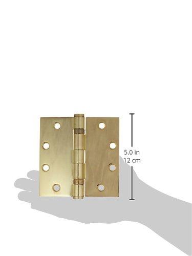 Home Improvement Deltana S45BBU3 HD Ball Bearings Steel 4 1//2-Inch x 4 1//2-Inch Square Hinge Top Notch Distributors Inc.