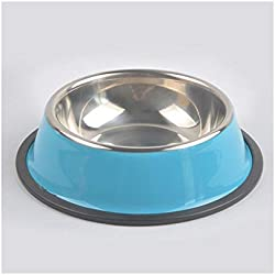 Drinking Bowl for Dogs Pet Dry Food Cat Bowls Pink Dog Bowls Outdoor Drinking Water Fountain Pet Dog Dish Feeder Goods 30D Red L