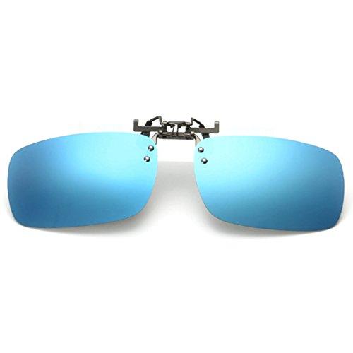 myopie Bleue sur extérieure pour conduite Glace polarisé lunettes de lunettes pêche clip Aiweijia de unisexe les des soleil q7wTWFA