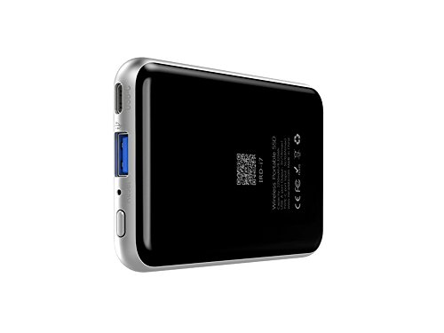 irecadata i7 128GB Wireless Wifi External Portable USB 3.1 Solid State Drive SSD Built in 2250 mah Power Bank by irecadata (Image #2)