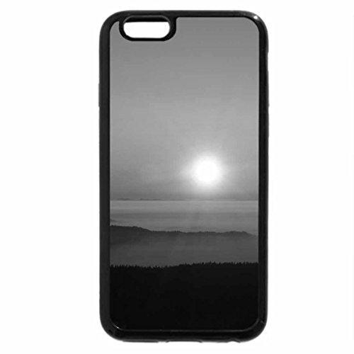 iPhone 6S Plus Case, iPhone 6 Plus Case (Black & White) - Mer Brouillard Original