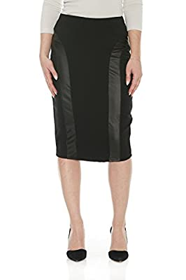 Esteez Women's Pencil Skirt – Ponte Knit - Knee Length – Madison