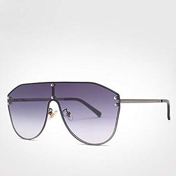 LXXSSRA Gafas de Sol Gafas de aviación de Gran tamaño ...