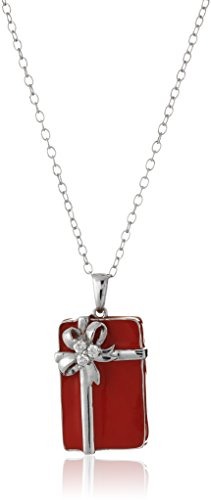 sterling-silver-diamond-gift-box-red-enamel-pendant-necklace-18