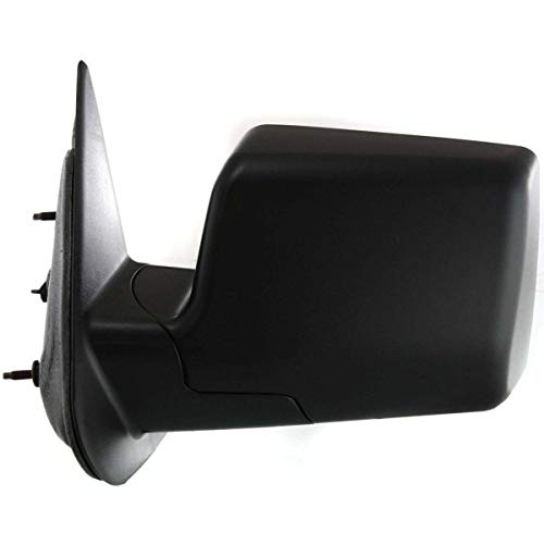 New Front Left Driver Side Manual Door Mirror For 2006-2011 Ford Ranger Manual Folding, Non-Heated, Textured Black FO1320283