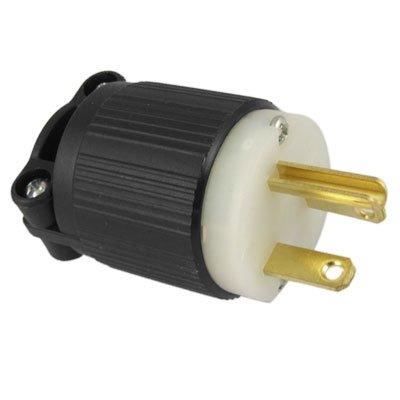 15a 125v Plug Type (J-716 AC 125V 15A Straight Male Electrical Plug Nema)