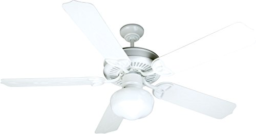 Craftmade Patio 52 Ceiling Fan (Craftmade K10529 Ceiling Fan Motor with Blades Included, 52
