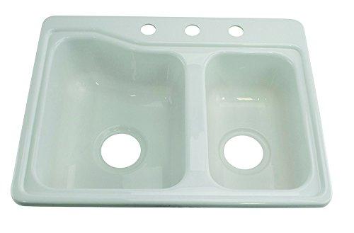 Lippert 209694 Better Bath RV Double Sink 25