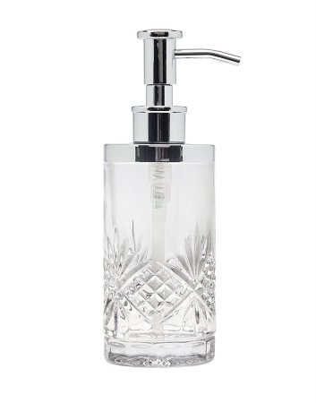 - Godinger Silver Art Dublin Non-leaded Crystal Bathroom Vanity Lotion Dispenser Pump