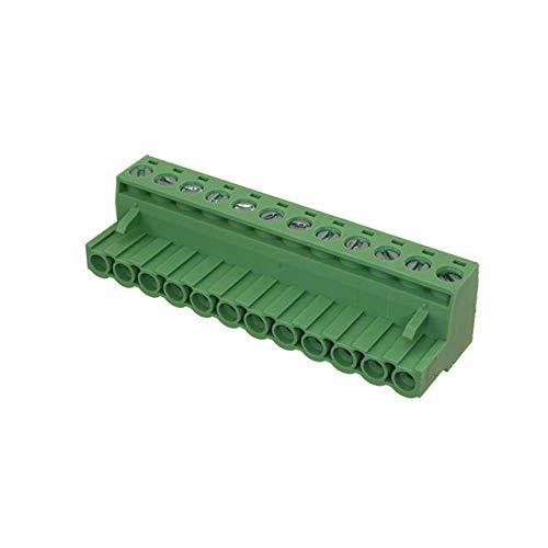 TERM BLOCK PLUG 12POS STR 5.08MM (Pack of 5)