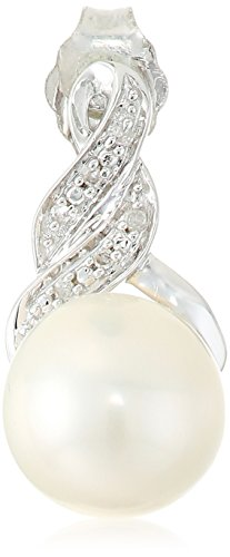 Sterling-Silver-Cultured-Freshwater-Pearl-of-8-and-9mm-with-White-Diamond-Accent-Earring-and-Pendant-Necklace-18