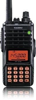 Yaesu FT-270R Handheld, SDD-13 Car Charger & Comet M-24S Mag Mount Antenna Bundle by Yaesu (Image #2)