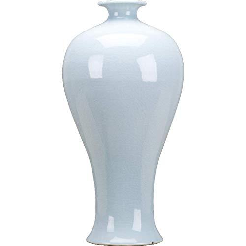 - Gourd Vase-Tint Of Celadon Dimension: 7.5x7.5x14.5 Pattern: Celadon Classic