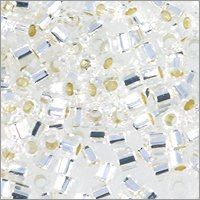 miyuki-delica-hex-seed-bead-11-0-dbc0041-silverlined-crystal-9-gram-pack