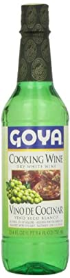 Goya Dry White Cooking Wine (Vino Seco Blanco) 25.4 OZ