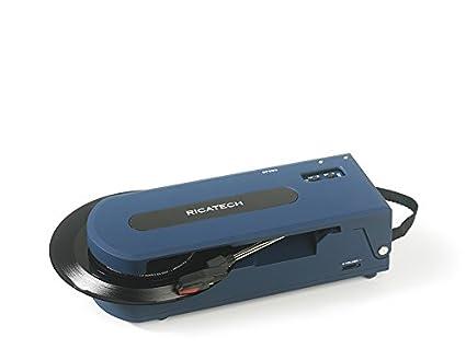 Ricatech RTT22 - Tocadiscos (Tocadiscos de tracción Directa, Azul ...