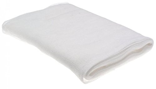 HIC Extra-fine Cheesecloth, 100-Percent Cotton, 126-Inches x - Homemade Butter Almond