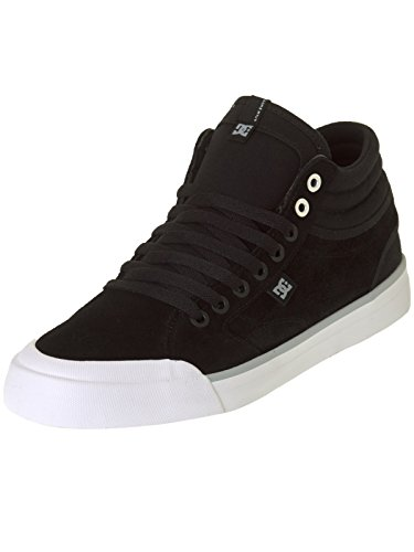 Zapatos DC Evan Smith Signature Series - Suede Negro-blanco