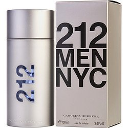 CAROLINA HERRERA 212 MEN EDT SPRAY 100ML 3.4OZ ()