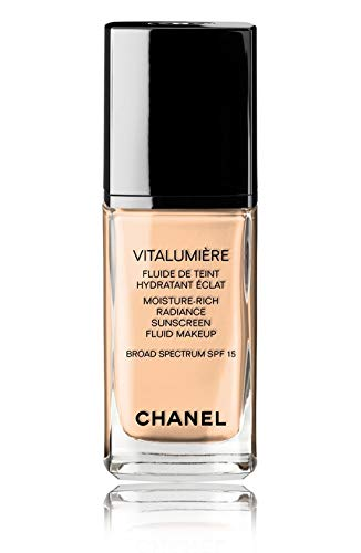 VITALUMIÈRE Moisture-Rich Radiance Sunscreen Fluid Makeup Broad Spectrum SPF 15 Color: 35 Soft ()