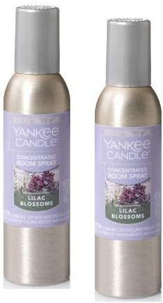 Amazon Com Yankee Candle 2 Pack Lilac Blossom Concentrated Room Spray 1 5 Oz Home Kitchen