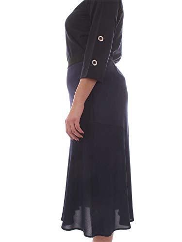 Persona By Azul Rinaldi Marina 1771029blue Viscosa Falda Mujer 7aw7qSC