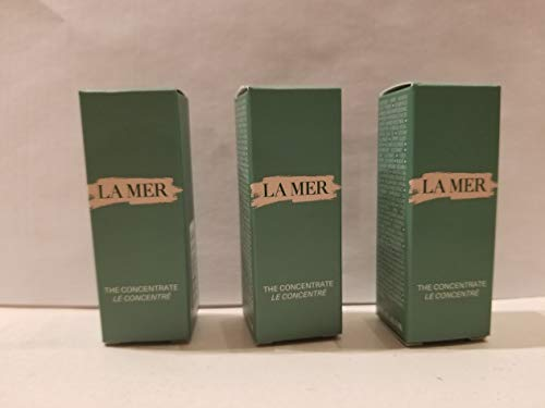 3* LA MER THE CONCENTRATE SAMPLE SIZE 3 ml =total 9ml