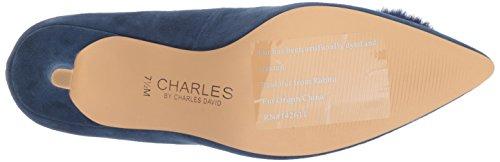 Charles by Charles David Womens Sadie Pump, Navy, 9 Medium US