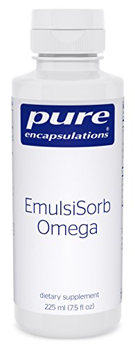 Pure Encapsulations - EmulsiSorb Omega - Enhanced-Absorption Fish and Borage Oils to Support Cognitive and Cardiovascular Health* - 225 ml (7.5 fl oz)