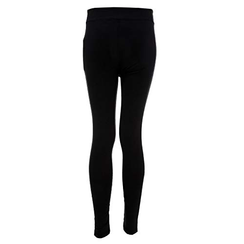 Under Armour Kids Girl's Favorite Knit Leggings (Big Kids) Black/White Large by Under Armour (Image #2)