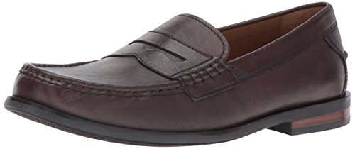 Cole Haan Men's Pinch Friday Contemporary Penny Loafer, Chestnut Handstain, 12 Medium US