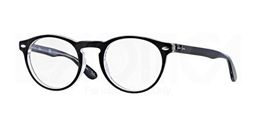 Ray-Ban Glasses 5283 2034 Black 5283 Round - Online Raybans