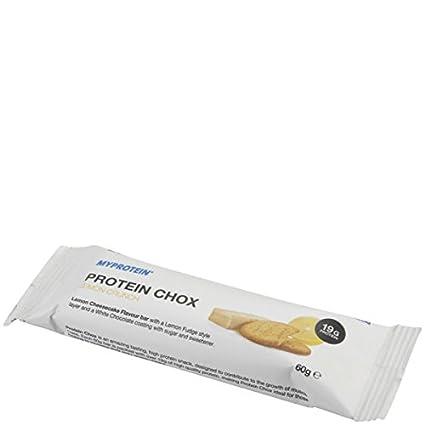 MyProtein Protein Chox Barrita Proteínica, Sabor Caramelo y Cacahuete - 60 gr