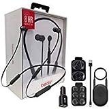 Beats by Dr. BeatsX Wireless in-Ear Headphones - Black - with Dual Car Adapter & Ear Gel - Lighting USB Kit (Renewed)