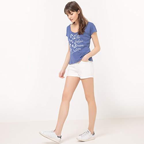 Jeans Tonda Pepe Donna Punta shirt T A Floreale Bn66CSdwq
