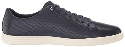Cole Haan Men's Grand Crosscourt Sneaker, MARINE BLUE/GLACIER GRAY US 8W