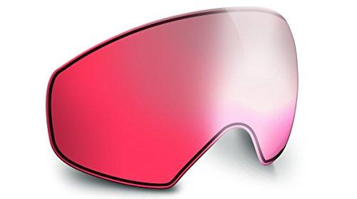 Bollé R/L Sierra Écran de Remplacement pour Casque de Ski Mixte Adulte, Vermillon Gun