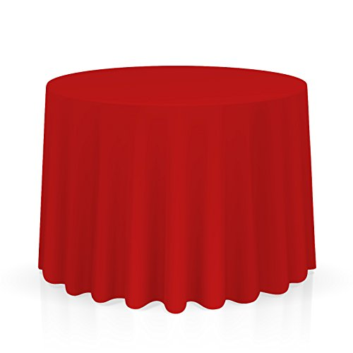 Red Fabric Tablecloth - Lann's Linens 90